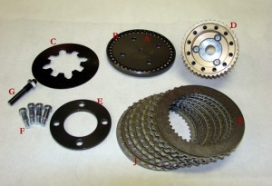 CC-120-BB Competitor Clutch Kit