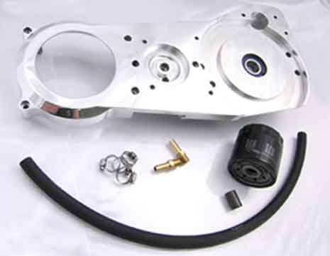 BDL-900-F Motor Plate with Oil Filter Mount