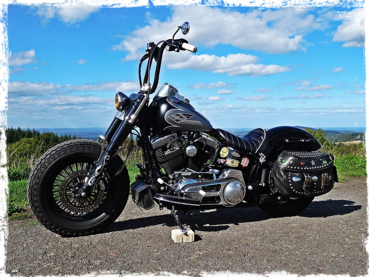 2012 Softail Slim with EVO-8S-2