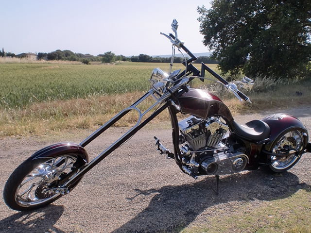 Big Bear Chopper with EVO-9S